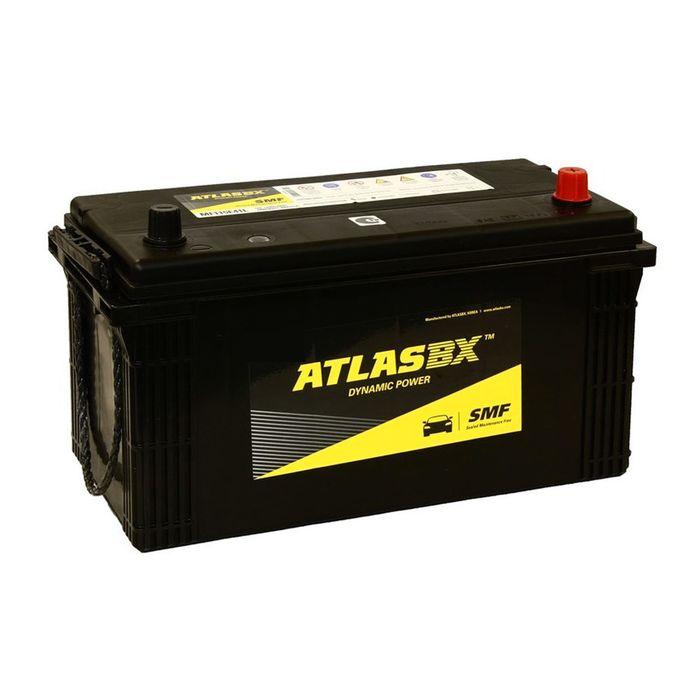 Аккумуляторная батарея Atlas 110 Ач MF 115E41R, прямая полярность
