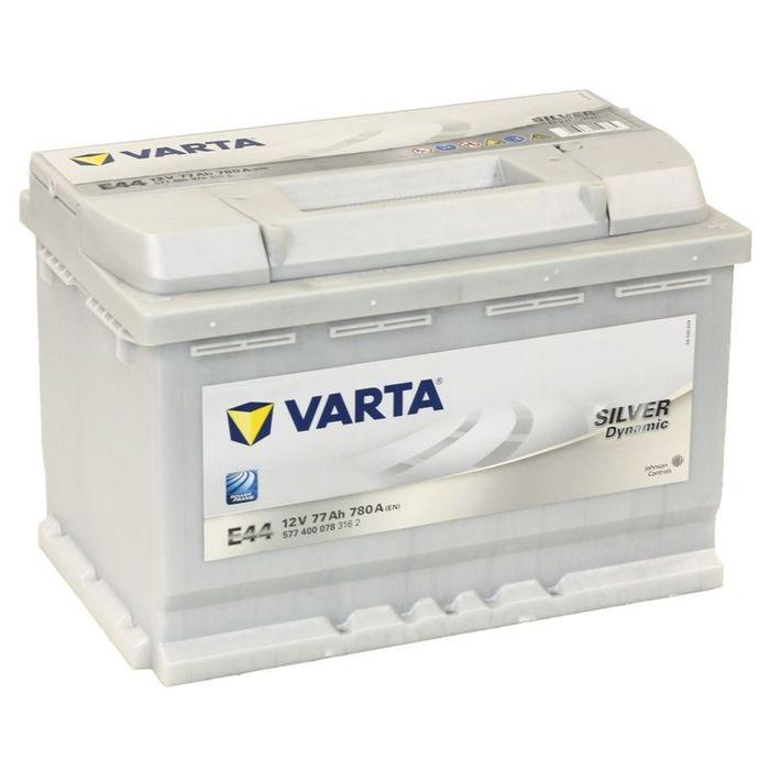 Аккумуляторная батарея Varta 77 Ач, обратная полярность Silver Dynamic 577 400 078