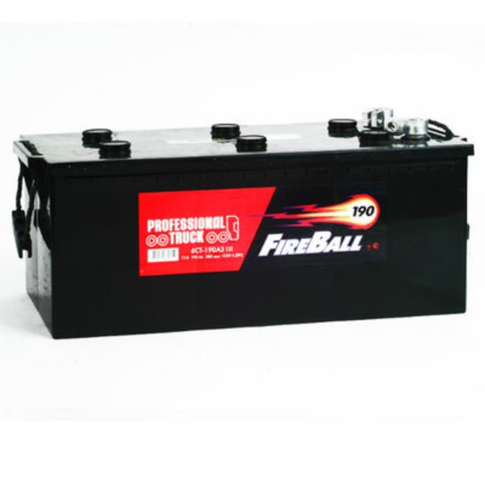 Аккумуляторная батарея FireBall болт п.п 190 - 6 СТ АПЗ
