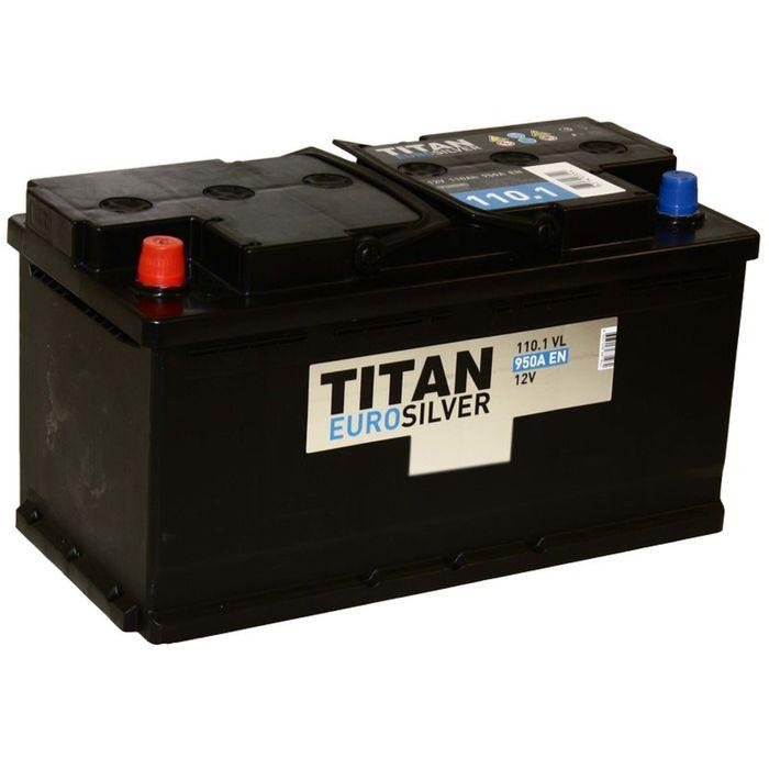 Аккумуляторная батарея Titan  110 Ач Euro Silver