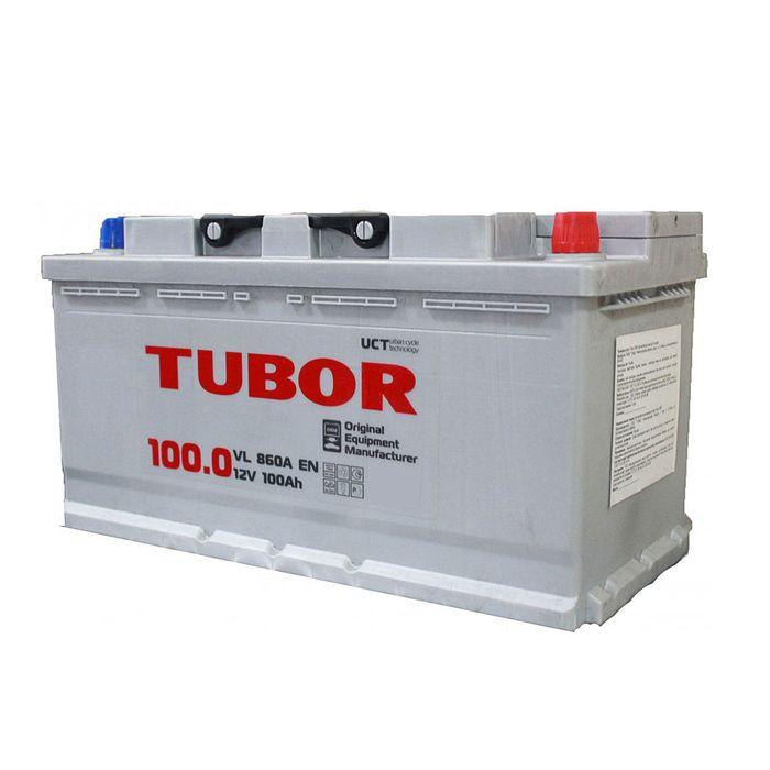 Аккумуляторная батарея Tubor 100 Ач, обратная полярность OEM EFB