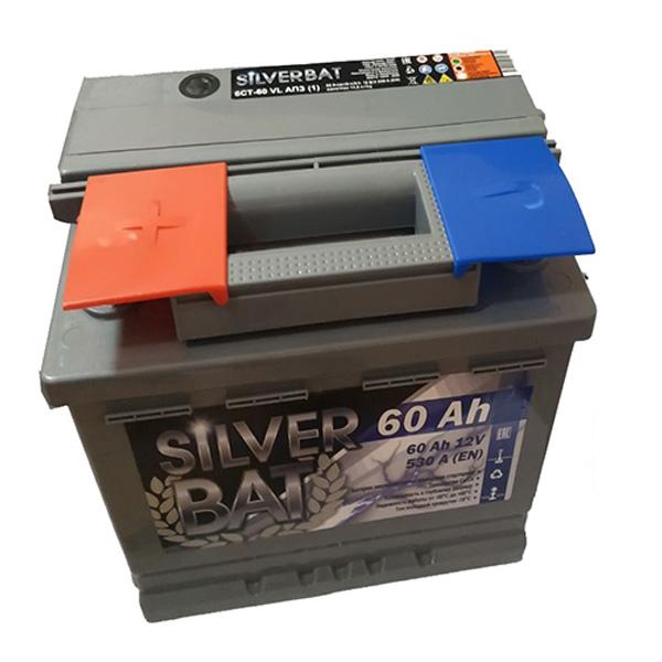 Аккумулятор SILVER BAT Kainar 6СТ-60Ah АПЗ +/-