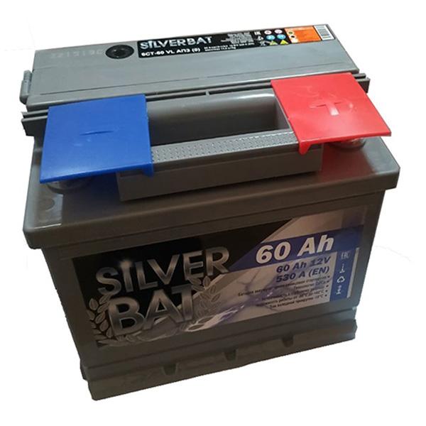 Аккумулятор SILVER BAT Kainar 6СТ-60Ah АПЗ -/+