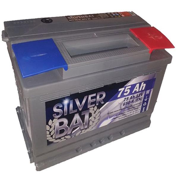 Аккумулятор SILVER BAT Kainar 6СТ-75Ah АПЗ -/+