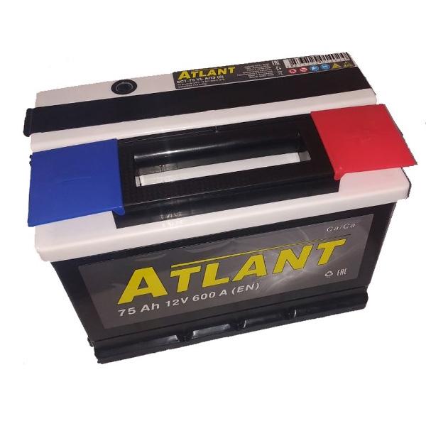 Аккумулятор ATLANT Kainar 6СТ-75Ah АПЗ -/+