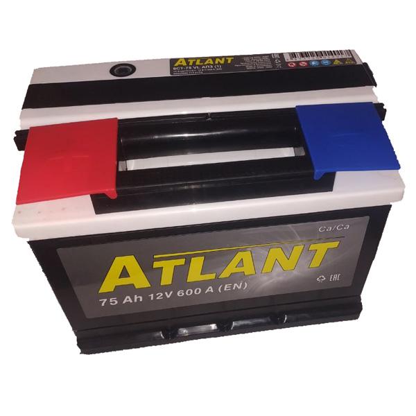 Аккумулятор ATLANT Kainar 6СТ-75Ah АПЗ +/-