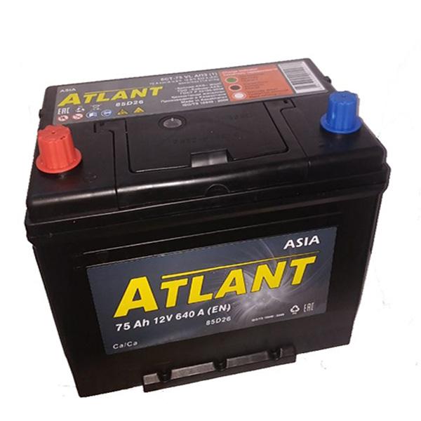 Аккумулятор Atlant asia Kainar 6СТ-75Ah АПЗ +/-