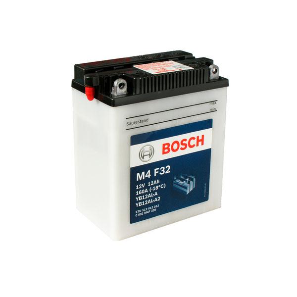 """Аккумулятор Bosch 12Ah """"-  +"""" (512013)"""