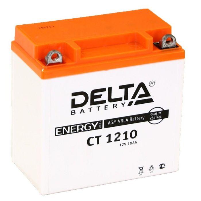 Аккумуляторная батарея Delta 10 Ач CT 1210 (12N9-4B-1)