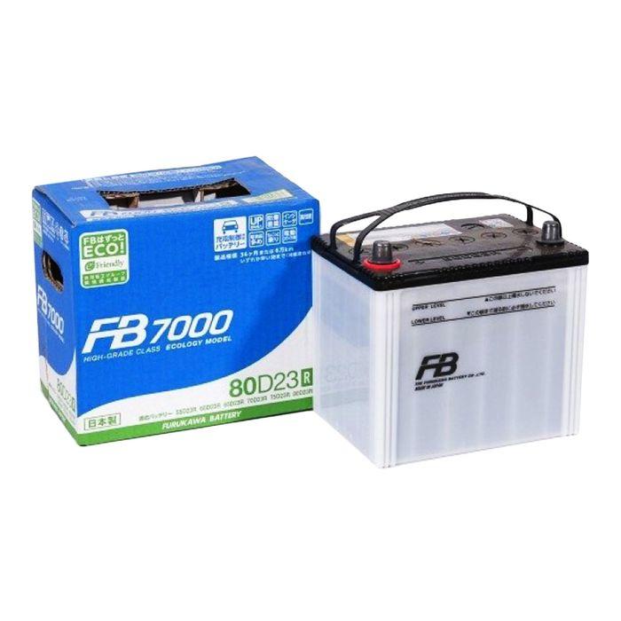 Аккумуляторная батарея FB9000 70 Ач 85D23R, прямая полярность