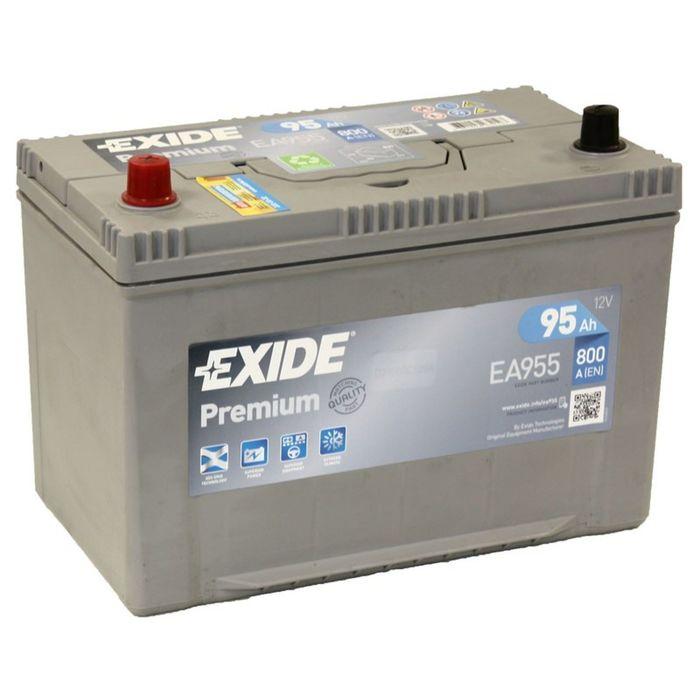Аккумуляторная батарея Exide 95 Ач Premium EA955 (D31FR)