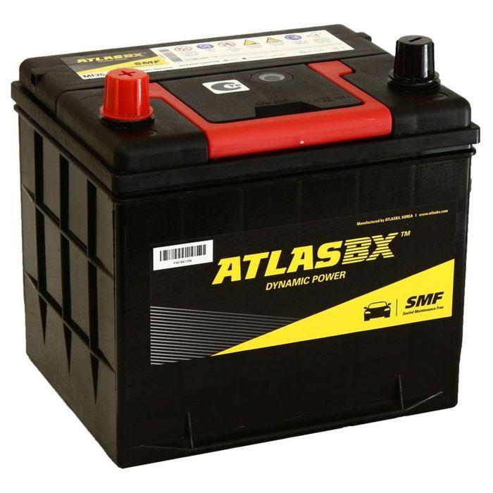 Аккумуляторная батарея Atlas 60 Ач MF 26-550