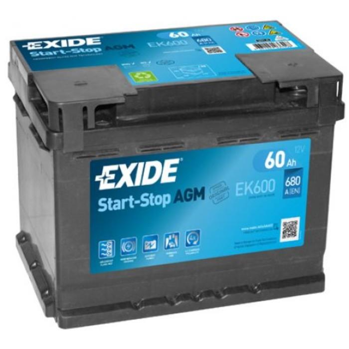АКБ Exide EK600