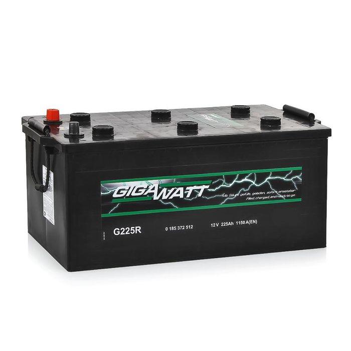 Аккумуляторная батарея Gigawatt 225 Ач G225R 725 012 115, обратная полярность