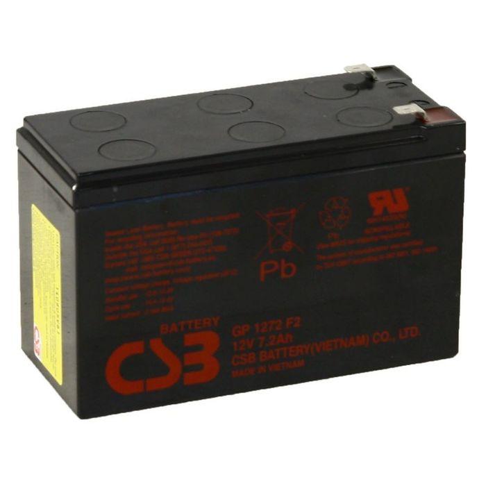 Аккумуляторная батарея CSB 7.2 Ач 12 Вольт GP 1272