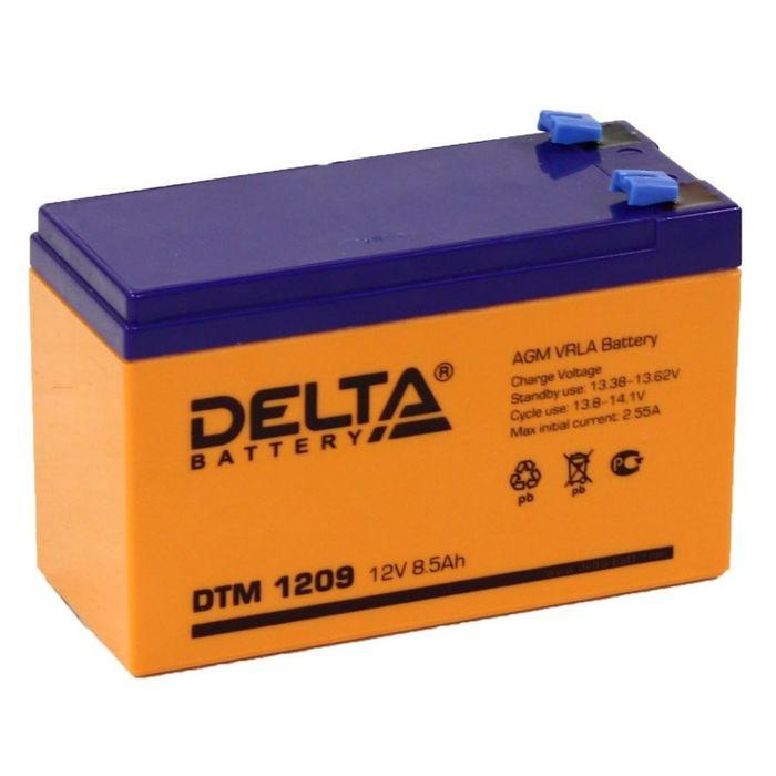 Аккумуляторная батарея Delta 8.5 Ач 12 Вольт DTM 1209