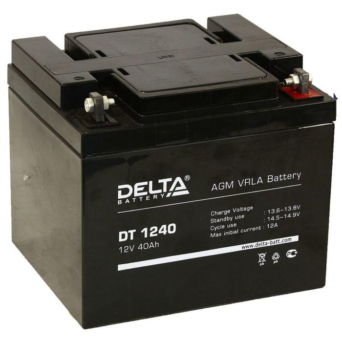 Аккумуляторная батарея Delta 40 Ач 12 Вольт DT 1240