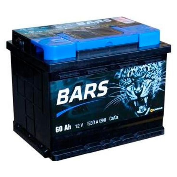 """Аккумулятор Барс Silver 6СТ-60Ah """"-"""""""