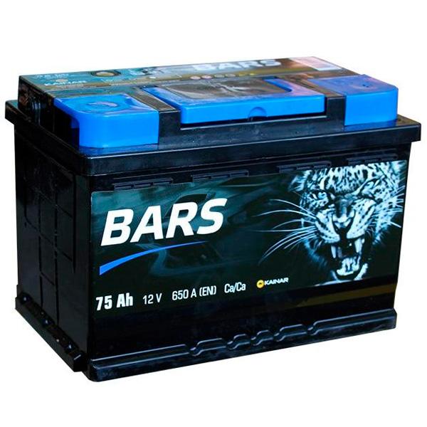 Аккумулятор Барс Silver 6СТ-75Ah -/+