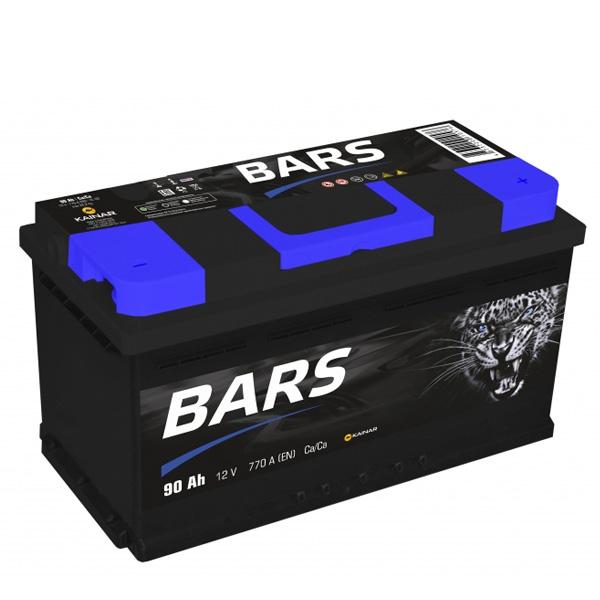 Аккумулятор Барс 6СТ-90Ah -/+