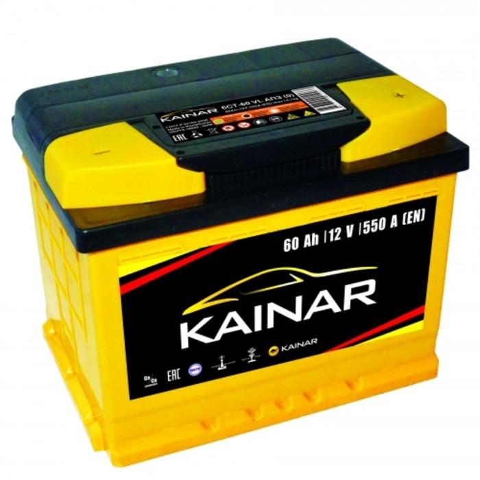 Аккумуляторная батарея Kainar о.п 60 - 6 СТ АПЗ