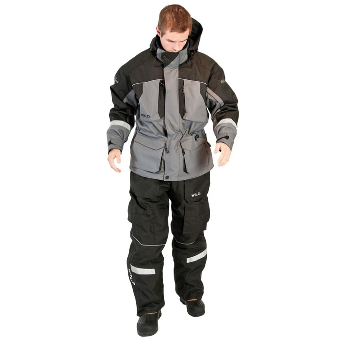Штаны черные, WILD 1039-XL