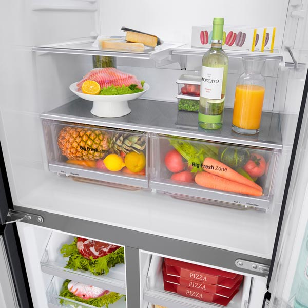 Холодильник LG GC-Q22FTBKL