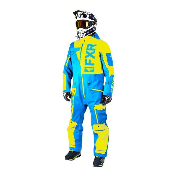 Комбинезон FXR Ranger Instinct без утеплителя, размер L, синий, жёлтый