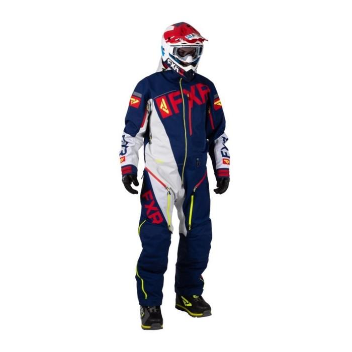 Комбинезон FXR Ranger Instinct без утеплителя, размер M, синий, красный, белый, жёлтый