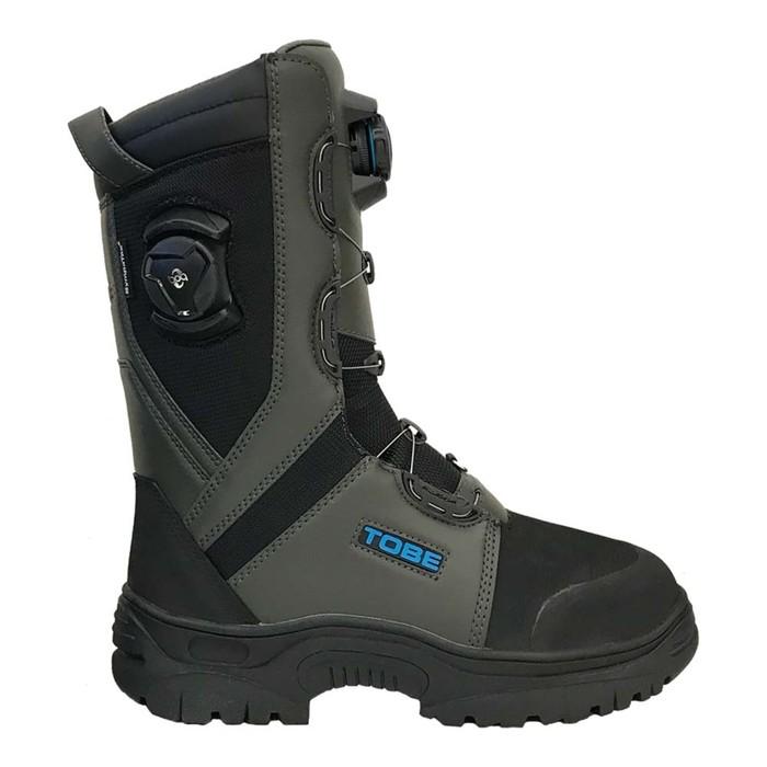 Ботинки Tobe Contego BOA с утеплителем, размер 45, серый, чёрный