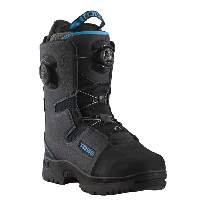 Ботинки Tobe Vivid BOA с утеплителем, размер 40, чёрный