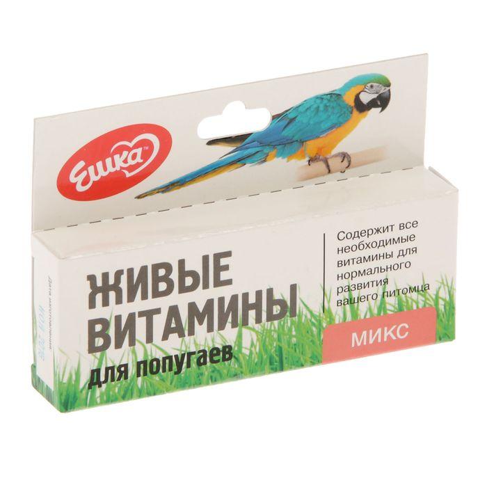 """Живые витамины """"Ешка Микс"""" для птиц, овес, пшеница, ячмень, 20 г"""