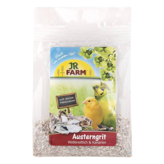 Песок устричный JR FARM для волнистых попугаев и канареек, 30 г