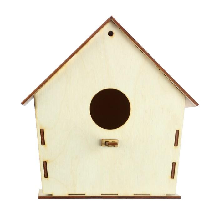 Скворечник для птиц 18*9*15 см