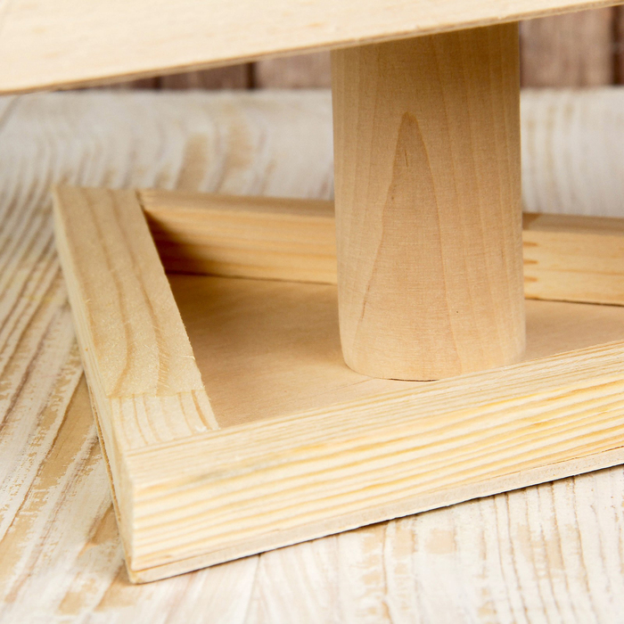 Кормушка для птиц «Зонтик», 25 × 32 × 24 см, МИКС