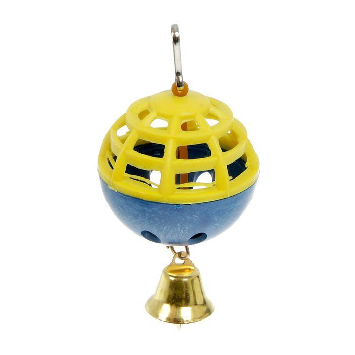 """Игрушка для попугая """"Забава"""" с 1 шариком"""