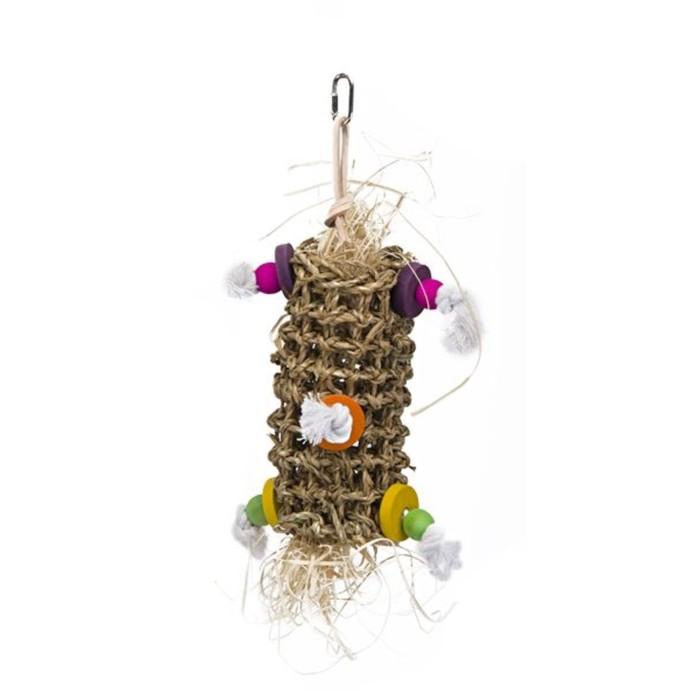 """Игрушка PENN-PLAX """"Подвеска плетеная"""", для птиц, малая"""