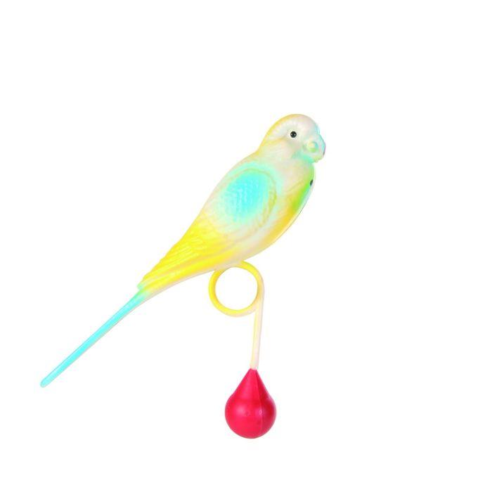 Пластиковый попугай Trixie, 13см.