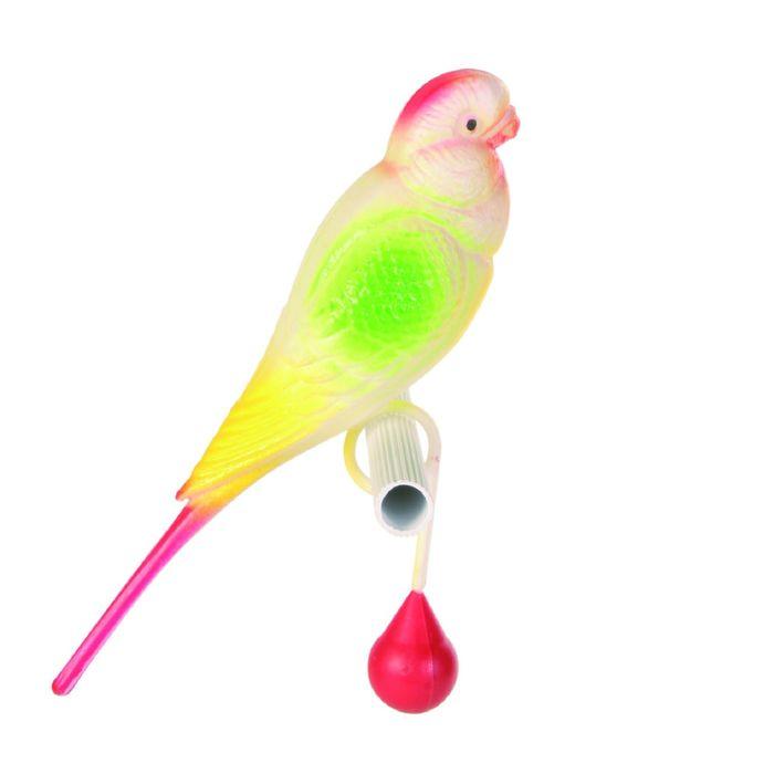 Пластиковый попугай Trixie,  15см.