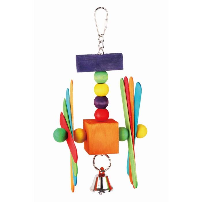 """Игрушка Fauna INT """"Цветные пропеллеры"""", для птиц"""