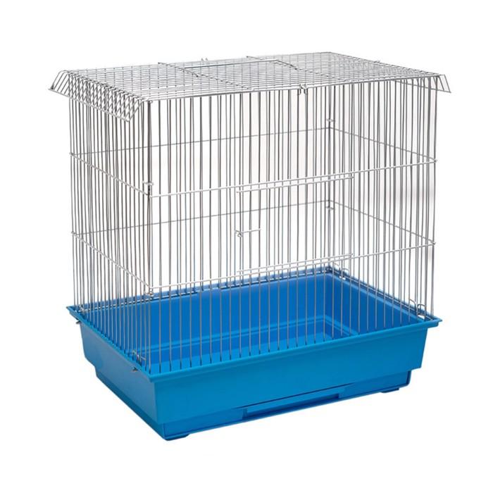 """Клетка для птиц """"Свит-1"""", складная, без наполнения, 38 х 26 х 39 см, микс цветов"""
