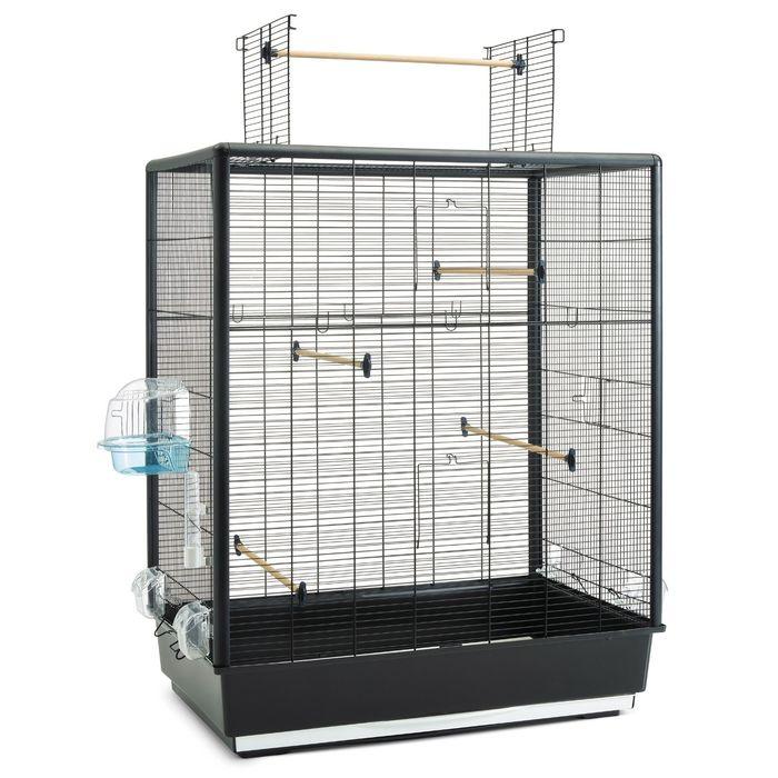 Клетка для птиц PRIMO 60 OPEN EMPIRE черная