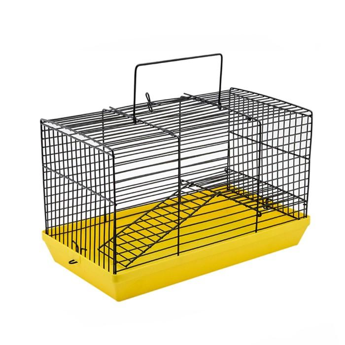 """Клетка-мини для грызунов """"Степка-2"""", без наполнения, 27 х 15 х 16 см, микс цветов"""