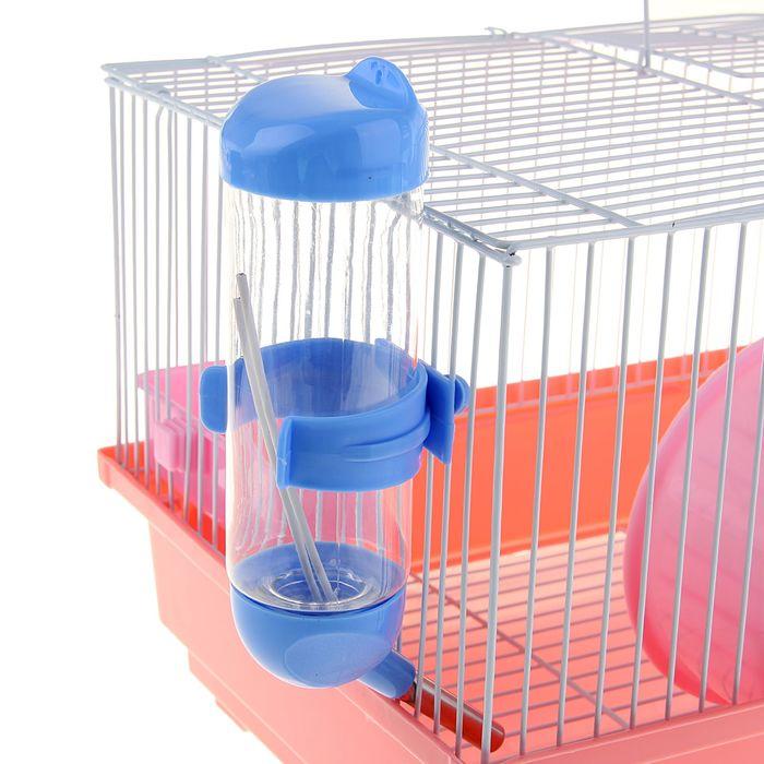 """Клетка для хомяков и других  мелких грызунов, 30 х 23 х 21 см, """"эмаль"""""""