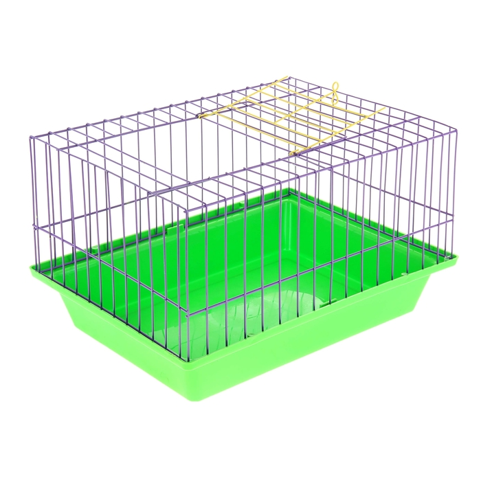 Клетка для морской свинки, 41 х 30 х 27 см  микс цветов