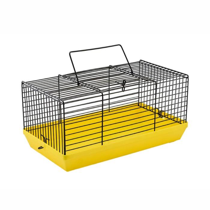 """Клетка-мини для грызунов """"Степка"""", без наполнения, 27 х 15 х 13 см, микс цветов"""