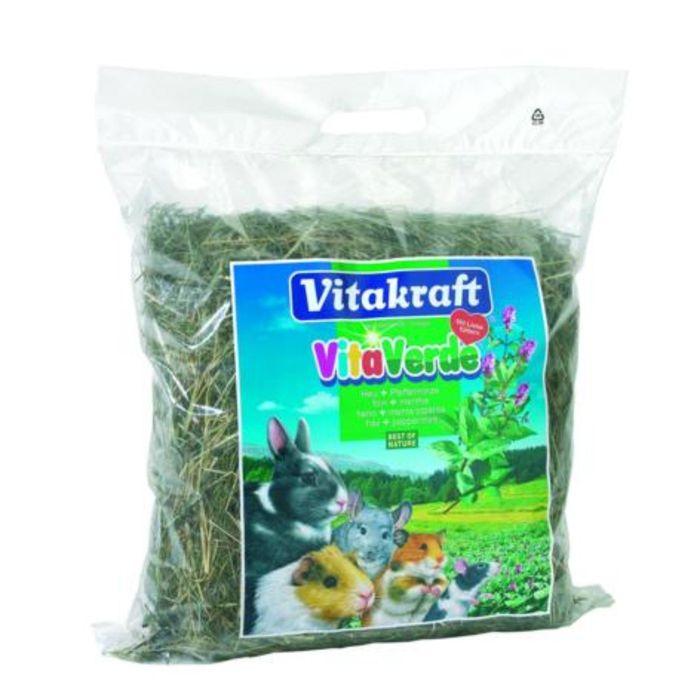 Луговое сено с мятой перечной VITAKRAFT VITA VERDE 500 г