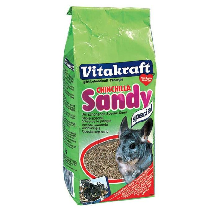 Песок VITAKRAFT CHINCHILLA SANDY для шиншилл, 1 кг