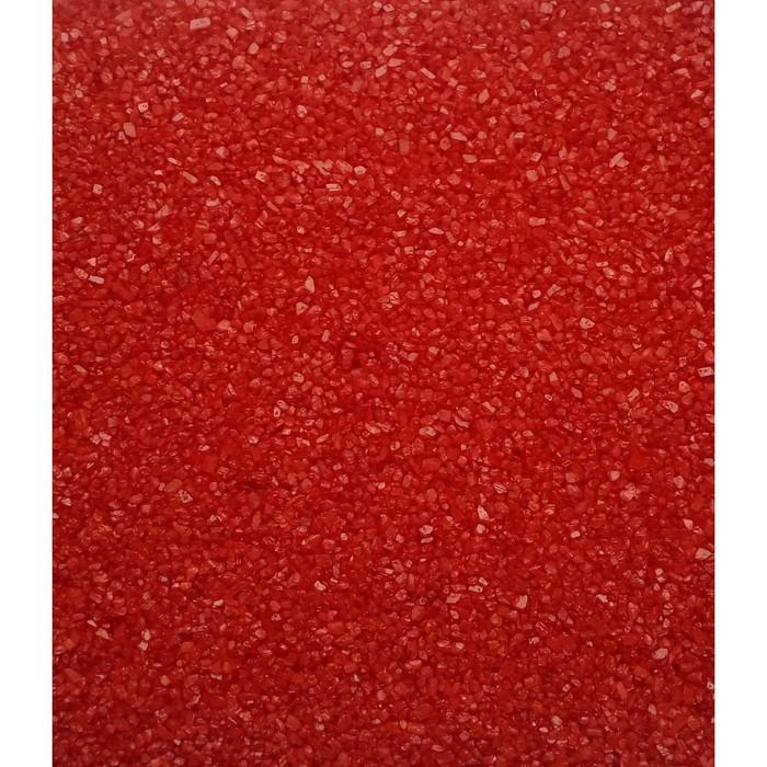 """Песок цветной, """"красный"""", 1 кг"""