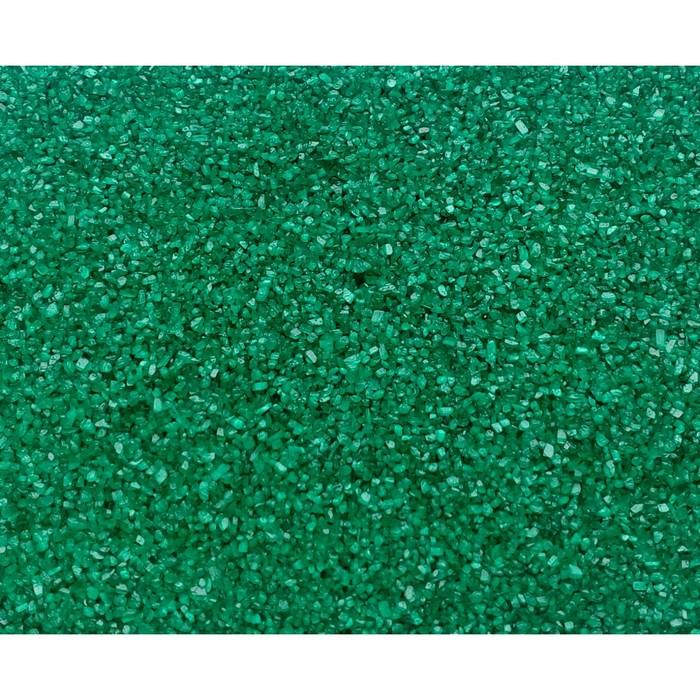 """Песок цветной, """"изумрудный"""", 1 кг"""